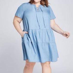 NWT lane Bryant swing dress